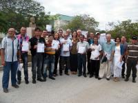 Reconocimiento a trabajadores no docentes de la Universidad de Ciencias Pedagógicas de Holguín