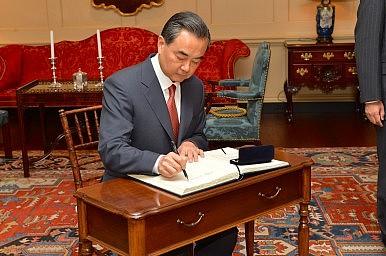 O ministro das relações exteriores chinês, Wang Yi. Foto: U.S. Department of State