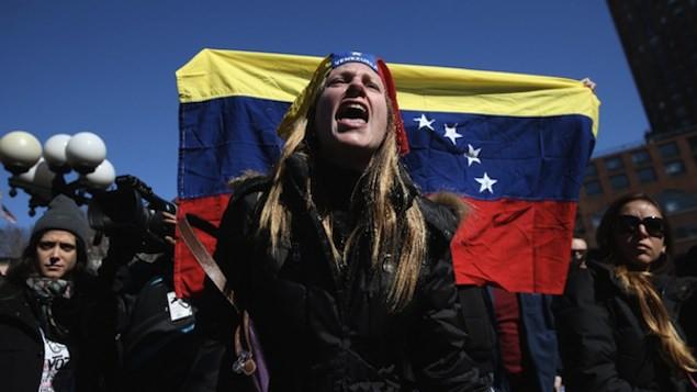 Milhares de usuários das redes sociais expressaram, na quinta-feira sua solidariedade com a Venezuela