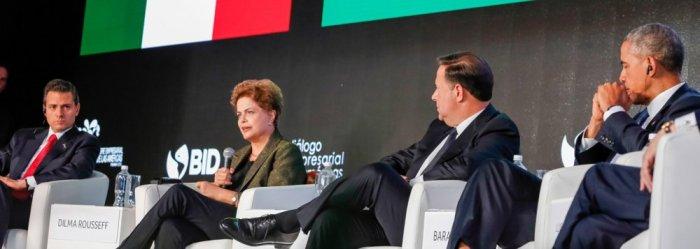 Presidente Dilma destacou a integração regional das nossas economias como fator de expansão de fronteiras