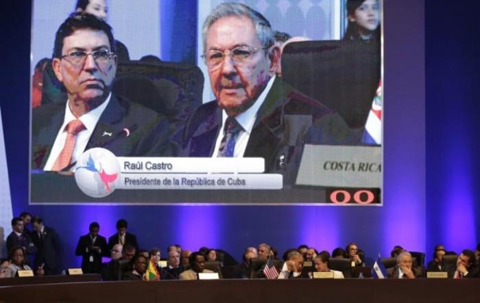 Raul Castro na Cúpula das Américas
