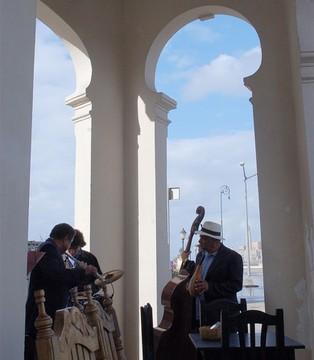 Músicos em Cuba / Foto: Lalo Leal