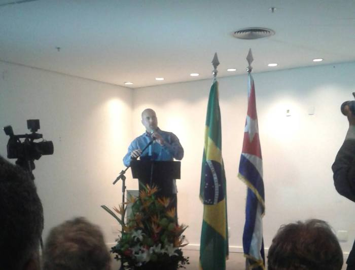 Gerardo Hernández no Museu da República em Brasília / Foto: JulianaMSC