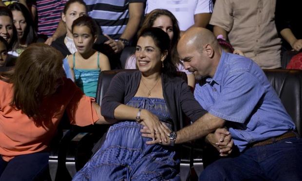 Gerardo Hernández e Adriana Pérez