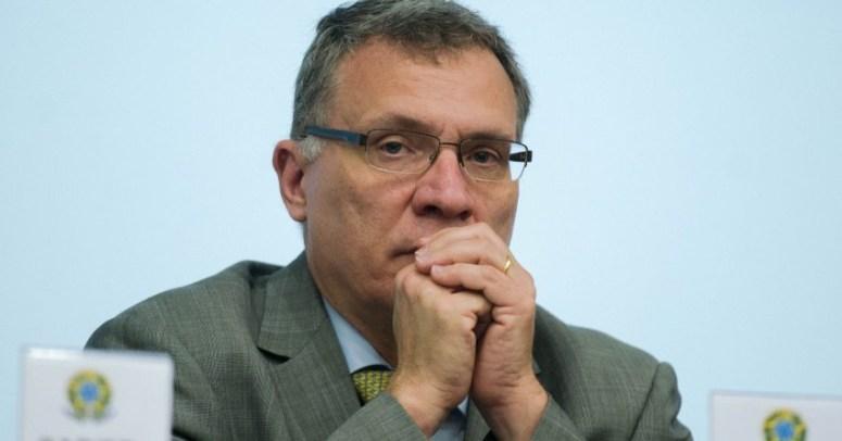 Brasília - O ministro da Justiça, Eugênio Aragão, durante encontro sobre a operação de segurança no revezamento da tocha olímpica dos Jogos Rio 2016. (Foto: Marcelo Camargo/Agência Brasil)